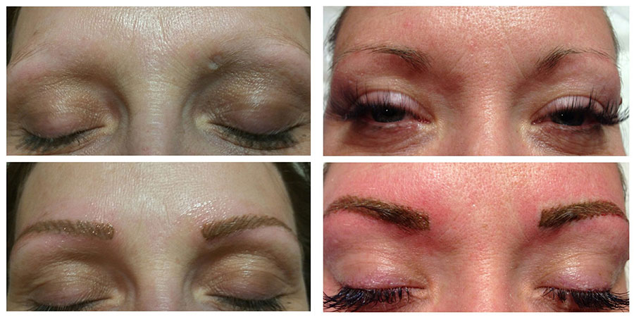 Eyebrow Micropigmentation Tattoo En Vogue Day Spa Gift Studio