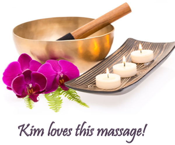kim loves this massage