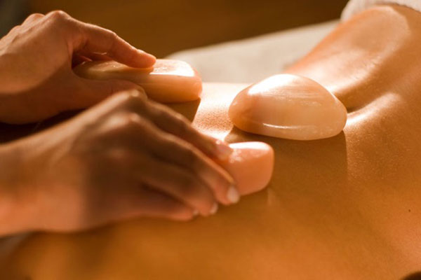 Himalayan Salt Stone Massage & Salt Bath
